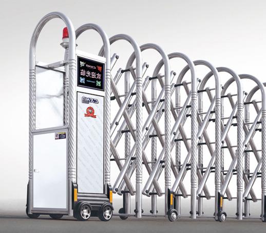 cổng xếp inox ống tròn xoắn nhập khẩu HVP04