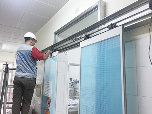 Sửa chữa cửa tự động 4