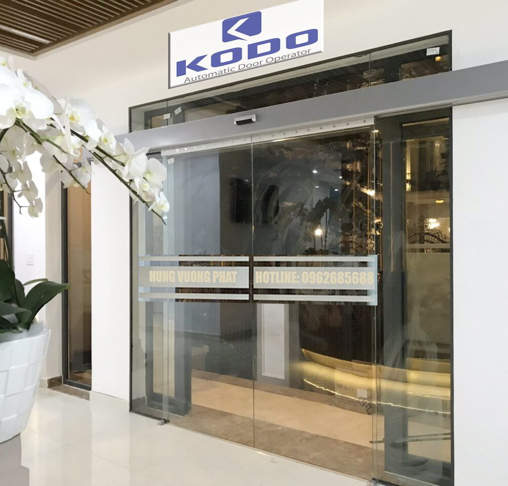 Cửa trượt tự động KODO-Hàn Quốc