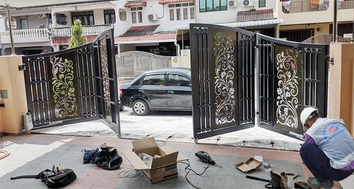 Khuyến cáo lắp đặt và sửa chữa cổng tự động