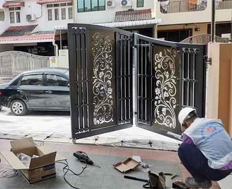 dịch vụ sửa chữa cổng tự động
