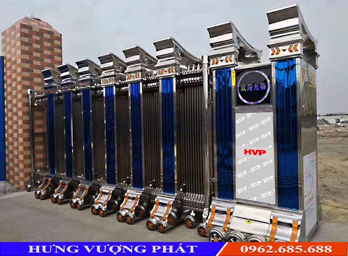 Cung cấp cổng xếp inox tại Hà Nội Cong-xep-inox-cao-cap