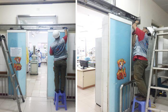 Quy trình sửa chữa cửa tự động