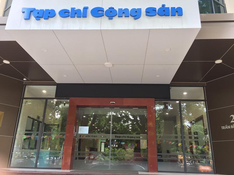 Cửa tự động cortech Hàn Quốc lắp tại 28 Trần Bình Trọng