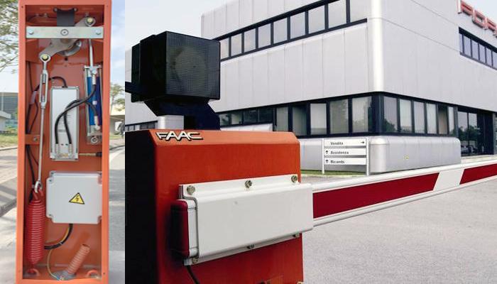 Ưu điểm Barrier tự động FAAC - Italy